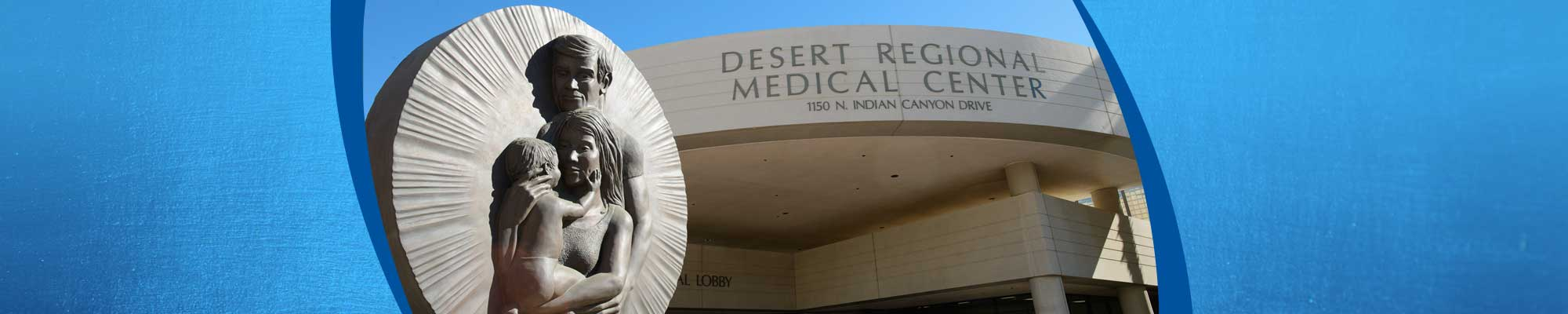 Desert Regional Medical Center exterior.